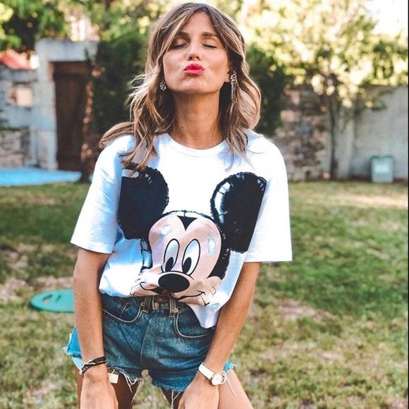 LAST ONE- NWT Zara Mickey T-Shirt